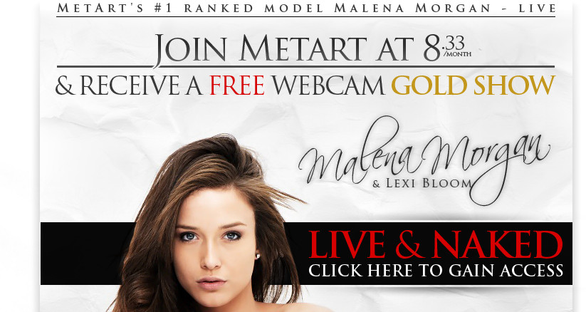 Join MetArt for One Year And Receive A FREE Gold Show!